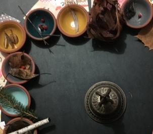 teacup altar
